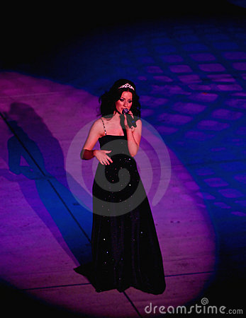 Cantante Maria-anne roddy Fotografía editorial