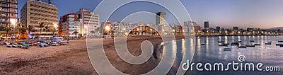 Canteras beach, Las Palmas de Gran Canaria, Spain