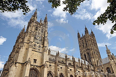 Canterbury Cathedral, Side Elevation