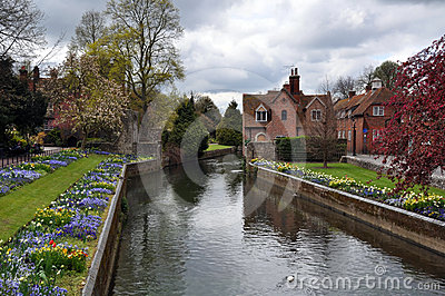 Canterbury, United Kingdom - River & Gardens