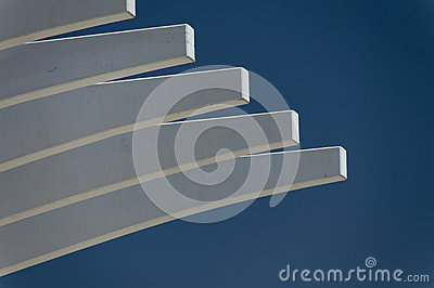 Cantilever ribs