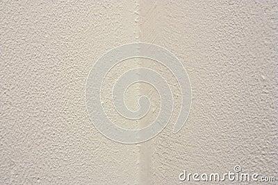 Canto branco da parede