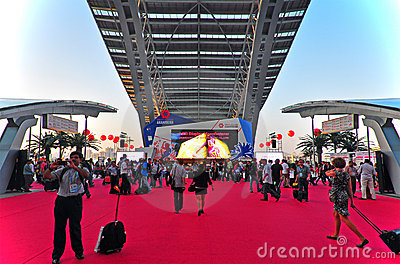 Canton fair 2011 arena Editorial Stock Image