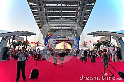 Canton fair 2011 arena Editorial Stock Image