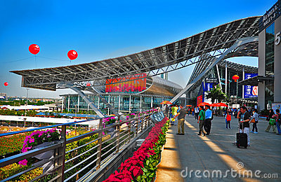 Canton fair 2011 pazhou complex, China Editorial Photo