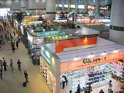 Canton fair Editorial Stock Image