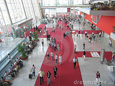 Canton fair Editorial Photo
