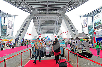 Canton fair arena Editorial Image