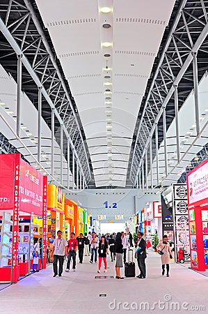 Canton fair hall 1.2 Editorial Stock Photo