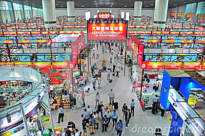 Canton fair hall 6.4, china 2012 Editorial Stock Image
