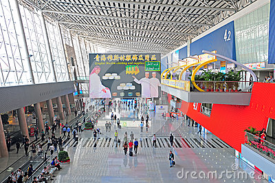 Canton fair hall, china Editorial Image