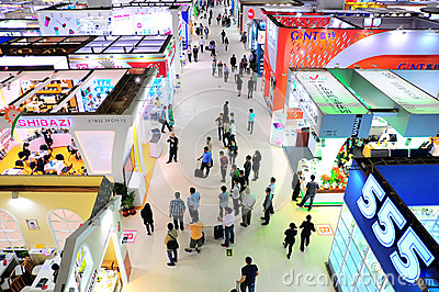 Canton fair pavillions Editorial Image