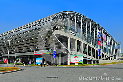 Canton fair pazhou complex Editorial Stock Image
