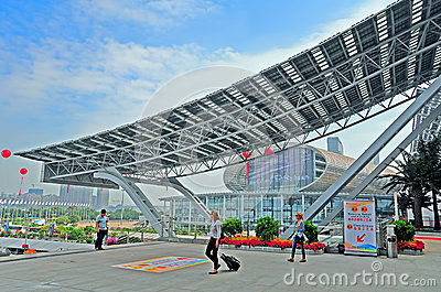 Canton fair pazhou complex, China Editorial Photography