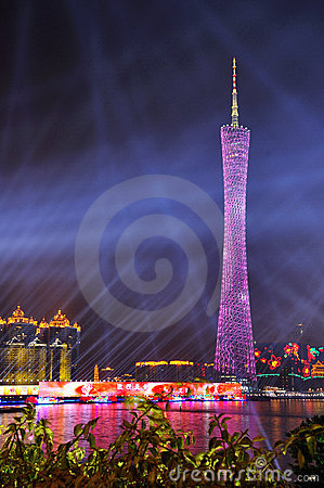 Free Canton Tower Stock Photography - 17336822