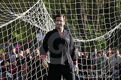 Cantona v Lievremont Editorial Photo