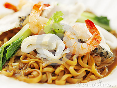 Cantonese Asian style noodle