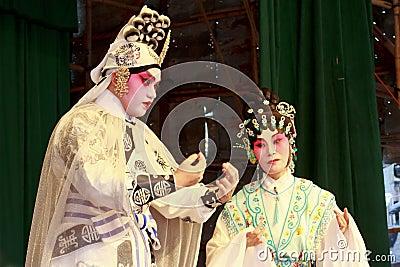 Cantonese Opera of Cheung Chau Bun Festival 2011 Editorial Stock Photo