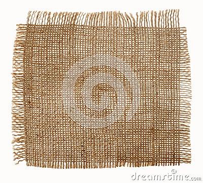 Canvas fabric texture