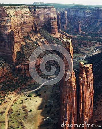 Free Canyon De Chelly National Monument, Arizona Stock Photo - 8819110
