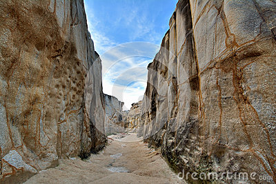 Canyon, decay granite, South of China