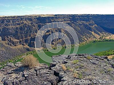 Canyon del fiume di serpente