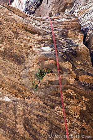 Free Canyoneering Rope Royalty Free Stock Photography - 5471147