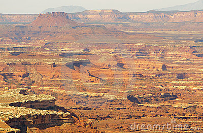 Canyonlands and mesa cliffs