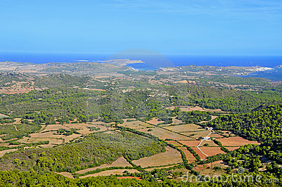 Cap de Cavalleria in Menorca Balearic Islands, S
