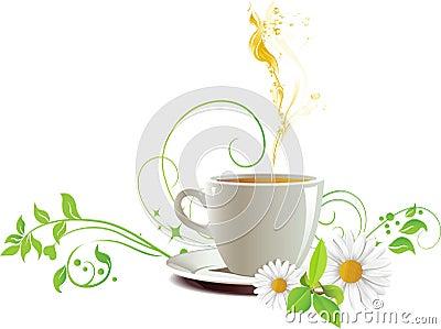 Cap of tea.