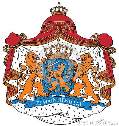 Capa de los brazos de los Países Bajos