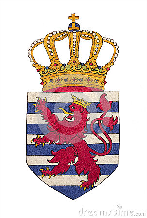 Capa de Luxemburgo de brazos