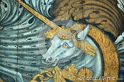 Capa del unicornio de los brazos