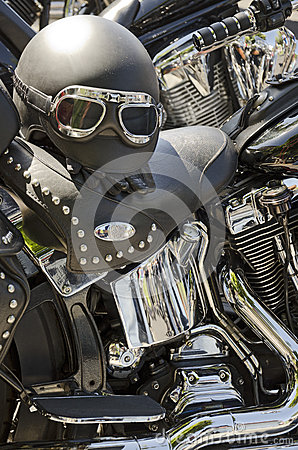 Capacete da motocicleta