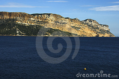 Cape Canaille near Cassis, France