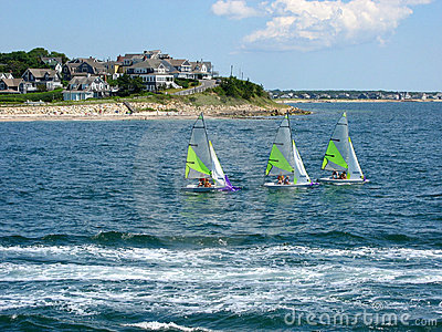 Cape Cod, Sailboats 01