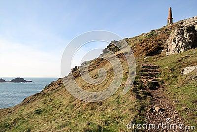 Cape Cornwall path.
