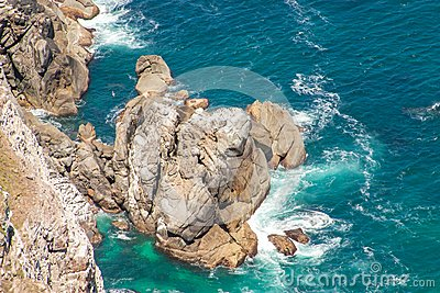 Cape of Good Hope. Cape Peninsula Atlantic ocean.