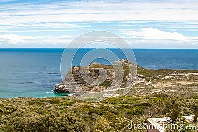 Cape of Good Hope. Cape Peninsula Atlantic ocean. Cape Town. South Africa