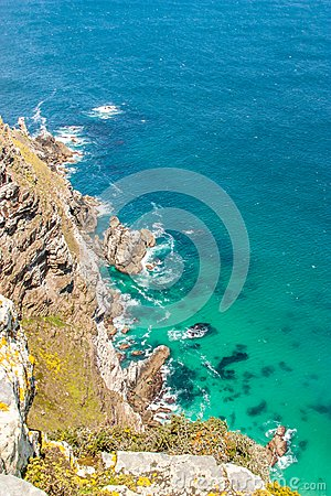 Cape of Good Hope. Cape Peninsula Atlantic ocean. Cape Town. South Africa