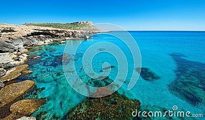 Cape greko,ayia napa area,cyprus.