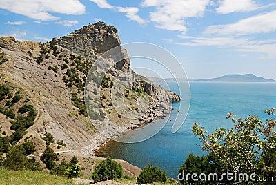 Cape Hoba-Kaya on the Crimean coast.