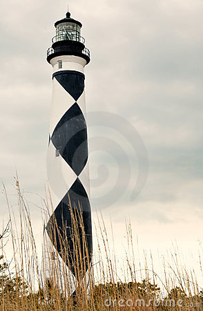 Cape Lookout Lighthouse Editorial Image