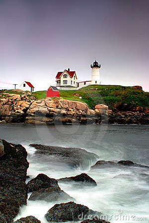 Free Cape Neddick Lighthouse, Maine Stock Photography - 714692