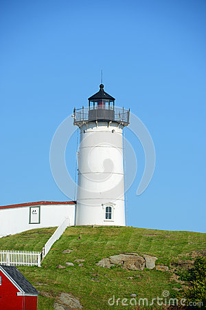 Free Cape Neddick Lighthouse, Old York Village, Maine Royalty Free Stock Photos - 43913208