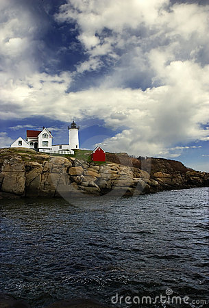 Free Cape Neddick, Maine Stock Photography - 2505112