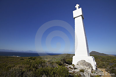 Cape Point Cross, Gama And Dias Honoured Royalty Free Stock Photography - Image: 15077237
