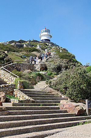 Free Cape Point Lighthouse Stock Photography - 19724462