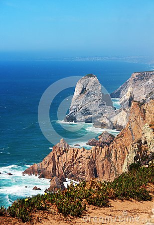 Free Cape Roca, Portugal Royalty Free Stock Photography - 32529607
