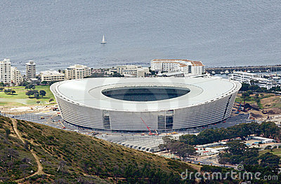 Cape Town Stadium Editorial Stock Photo